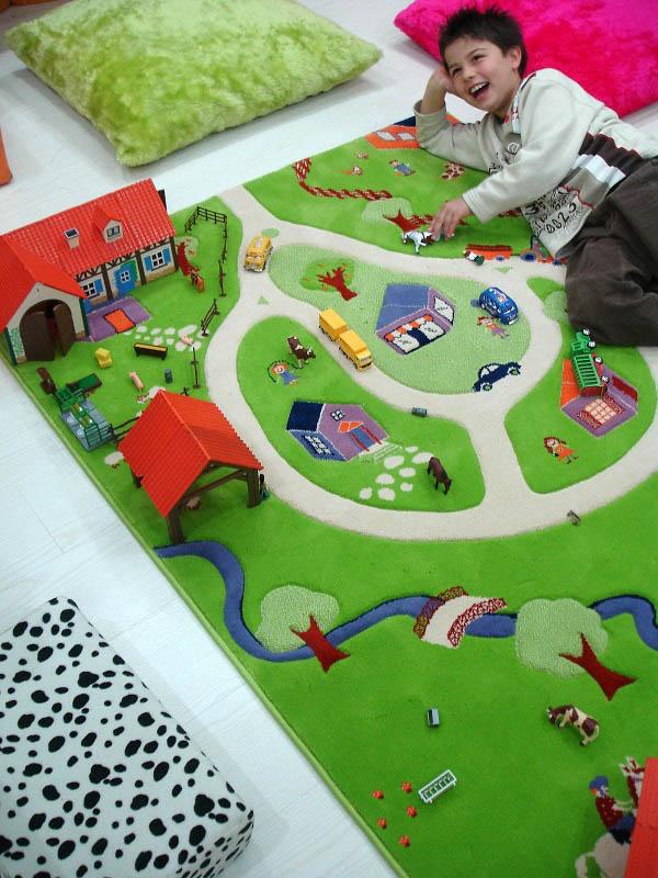Ivi 3d Play Rugs Farm