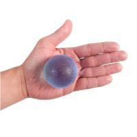 66fit-Hand Therapy Ball-Blue(firm)
