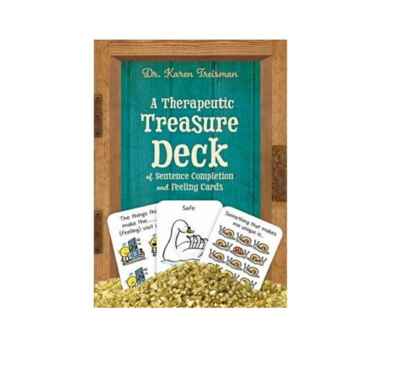 A Therapeutic Treasure Deck of Sentence Completion & Feelings Cards