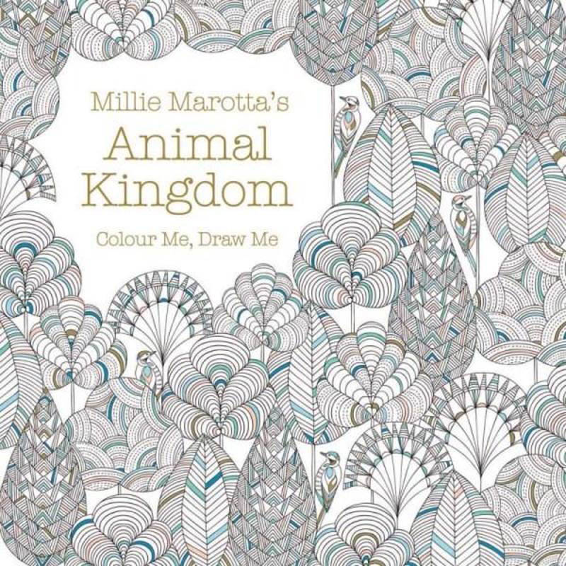 Animal Kingdom - Colour Me , Draw me by Millie Marotta
