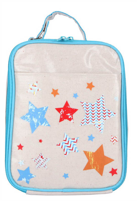 Apple and Mint-Kids Lunch Bags-Blue Star Lunch Bag