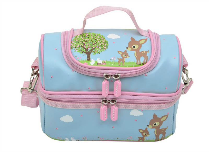 Bobble Art - Large Lunchbox - Woodland Animals
