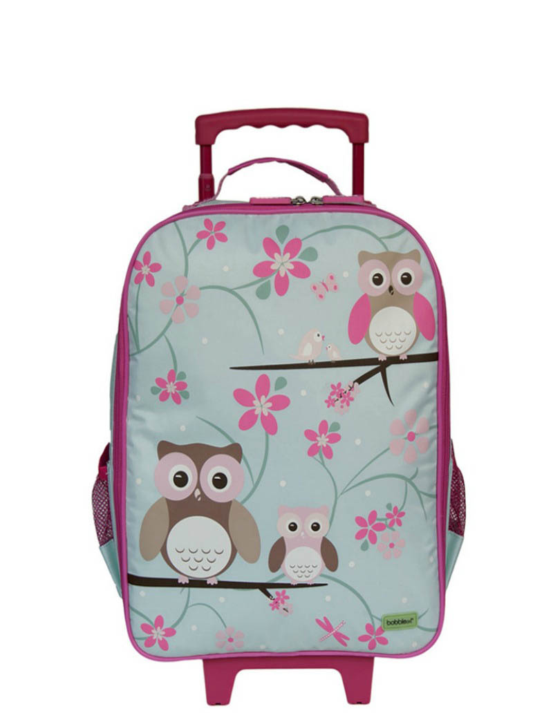 Bobble Art - Wheely Travel Bag - Owl
