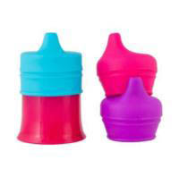 Boon SNUG Spout Universal Lid Set-Pink Multi