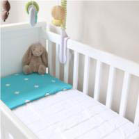Brolly Sheets Mattress Protector Cot Quilted - Fitted