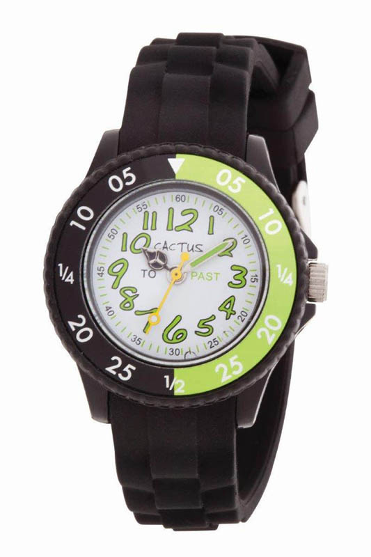 Cactus Time Tutor Watch -   CAC-77-M03