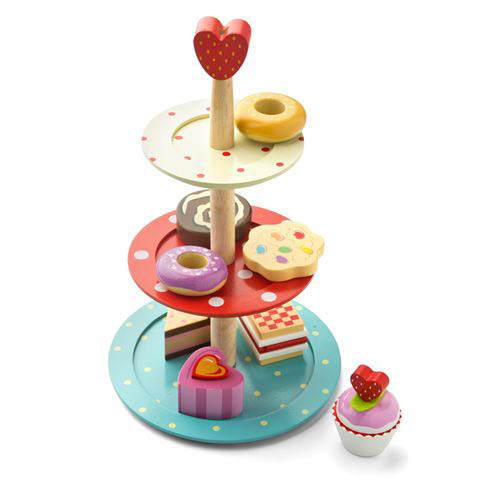 Le Toy Van- Wooden Toys- Cake Stand Set