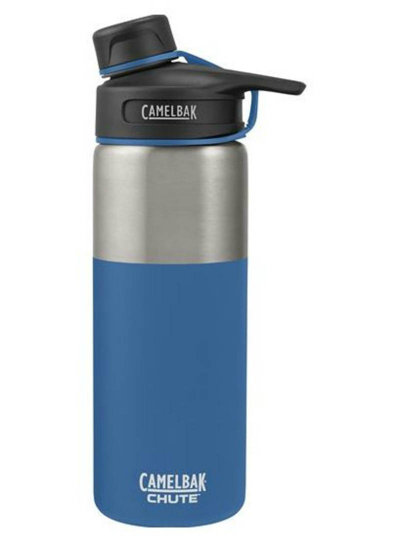 Camelbak CHUTE Vacuum Insulated Stainless Steel 600ml Drink Bottle- Pacific Blue