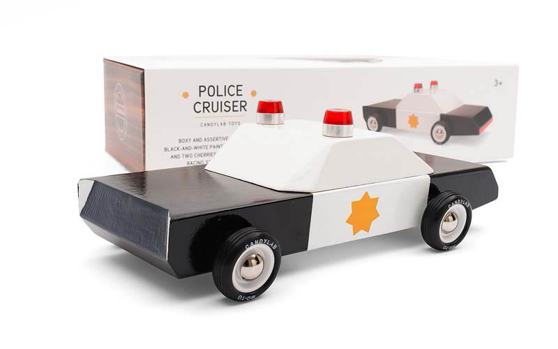 CandyLab Toys -  Pioneer Police Cruiser