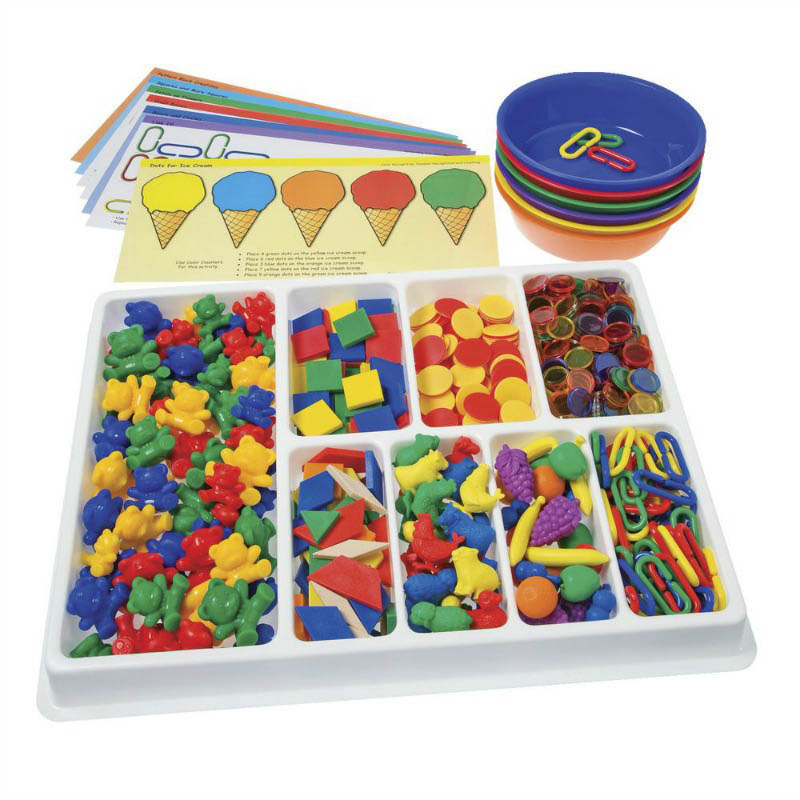Counting and Sorting Kit 650 pieces