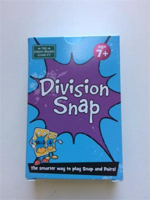 Division Snap Cards