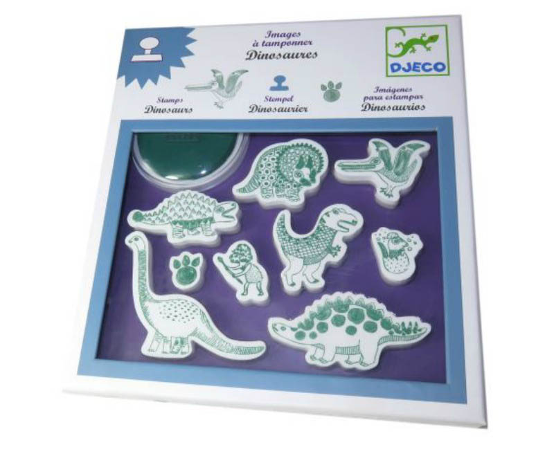 Djeco-Dinosaurs Stamps Set