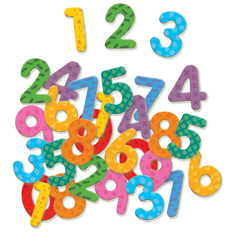 Djeco - Magnetic 38 Numbers Set