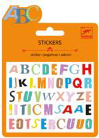 Djeco Mini Sticker Pack-Puffy Letters