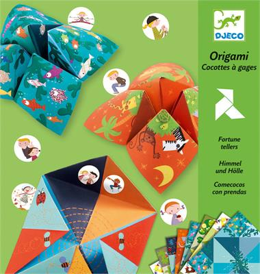 Djeco Origami Fortune Tellers Bird Game