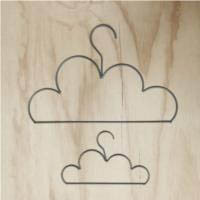 Grey Cloud Coat Hanger