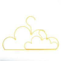 Yellow Cloud Coat Hanger