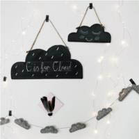 Little Lamb Cloud Felt Garland