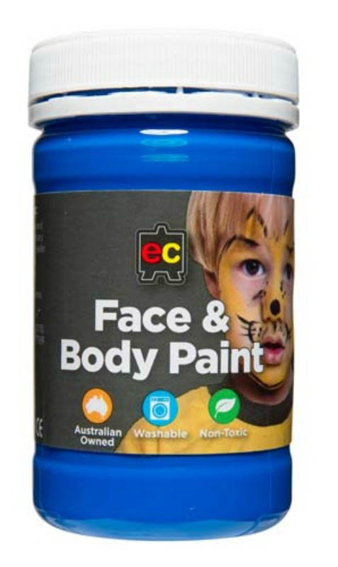 EC - Face and Body Paint - 175ml jar-Blue