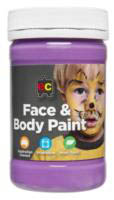 EC - Face and Body Paint - 175ml jar-Purple