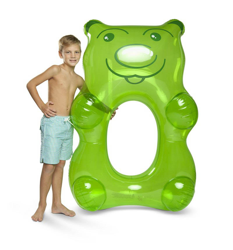 ECD Giant Inflatable Gummy Bear Pool Float