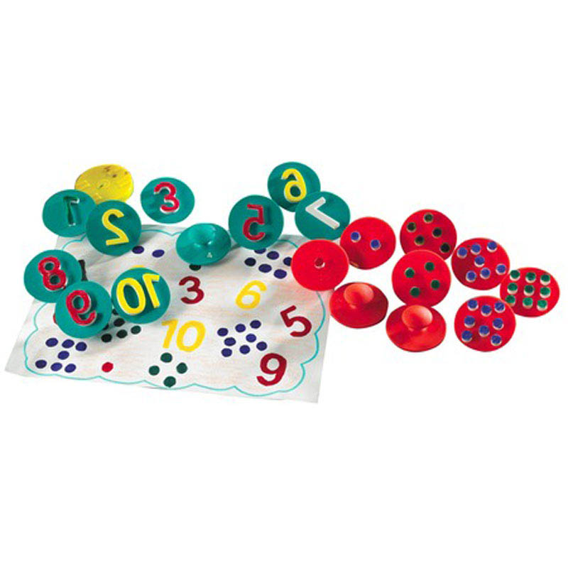 Edx Education-Kids Art-Adding up NumbersPaint Stampers