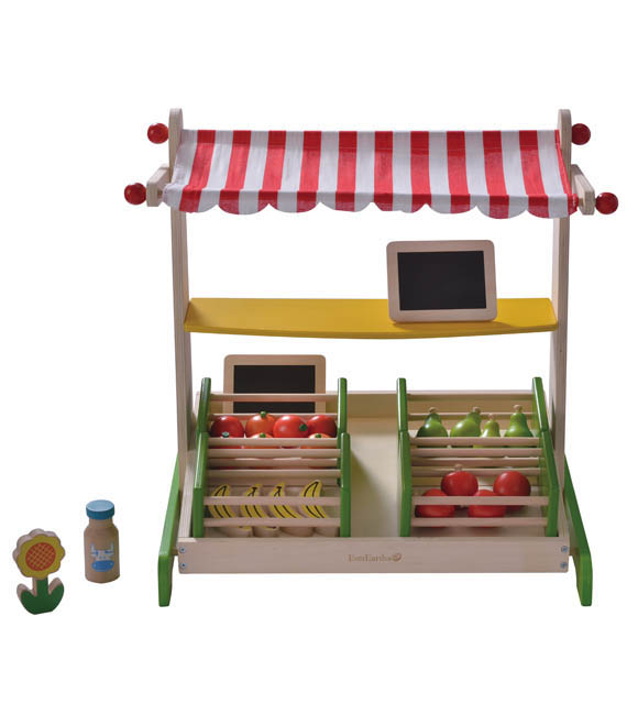 EverEarth-Kids Wooden Toys-Table Top Fruit Stand