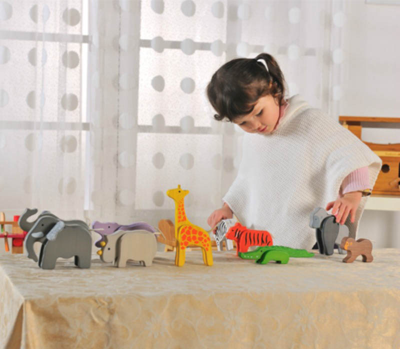 EverEarth-Wooden Toys-Bamboo Elephant
