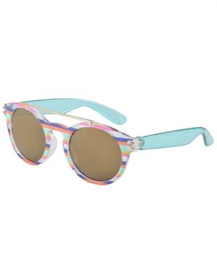 Frankie Ray Sunglasses 1-3 years Ava Aqua Stripe