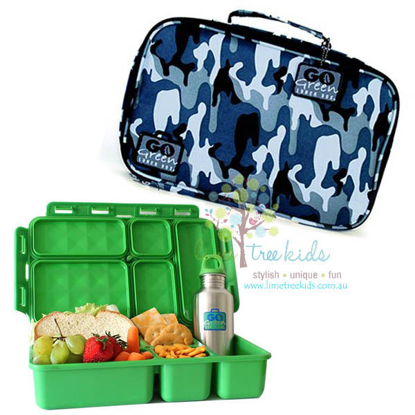 kids lunchboxes go green lunchbox set lime tree kids. Black Bedroom Furniture Sets. Home Design Ideas