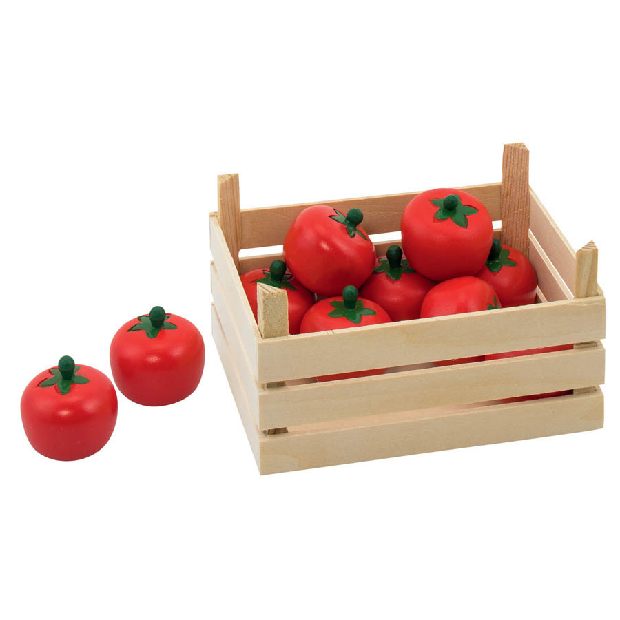 GOKI-Wooden Toys- Strawberry Crate