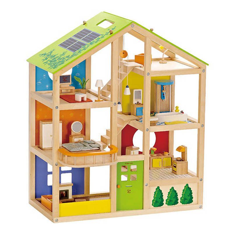 Hape-Kids Doll Houses-All Seasons Dollhouse