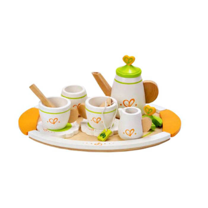 Hape-Wooden Kitchen Toys-Tea Set for Two
