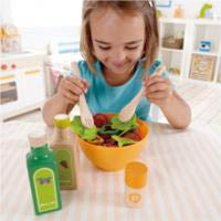 Wooden and Felt Play Food-Salad
