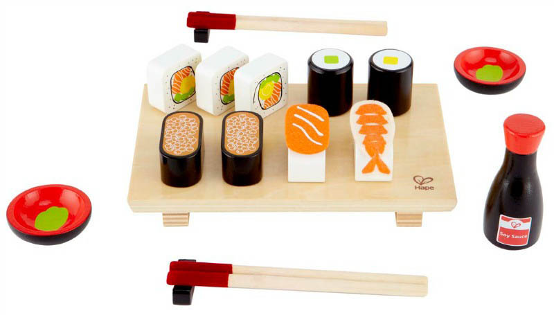 Hape-Wooden Play Food-Sushi Selection