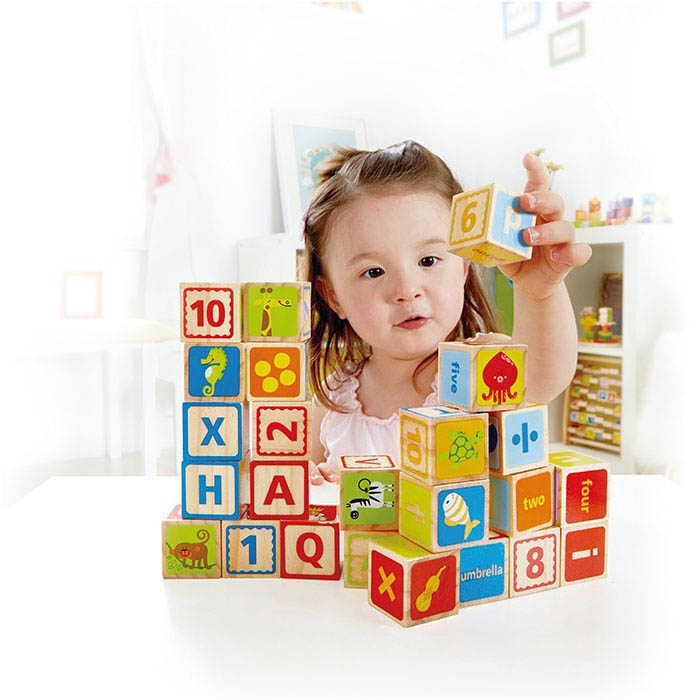 Hape-Wooden Toys-ABC Blocks