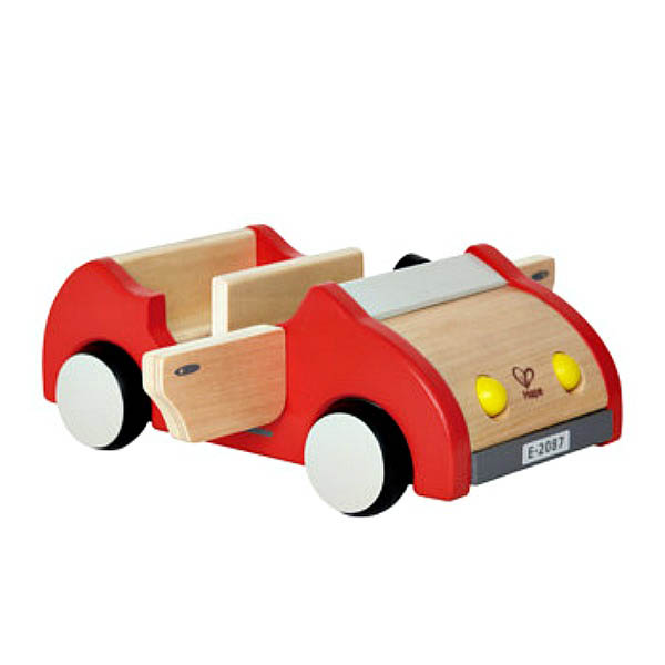 Hape-Wooden Toys for Kids-Family Car