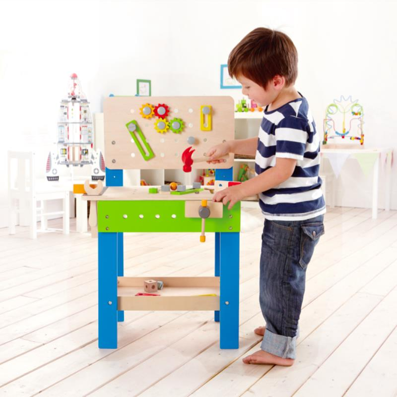 Hape - Wooden Toys - My Giant Master Workbench