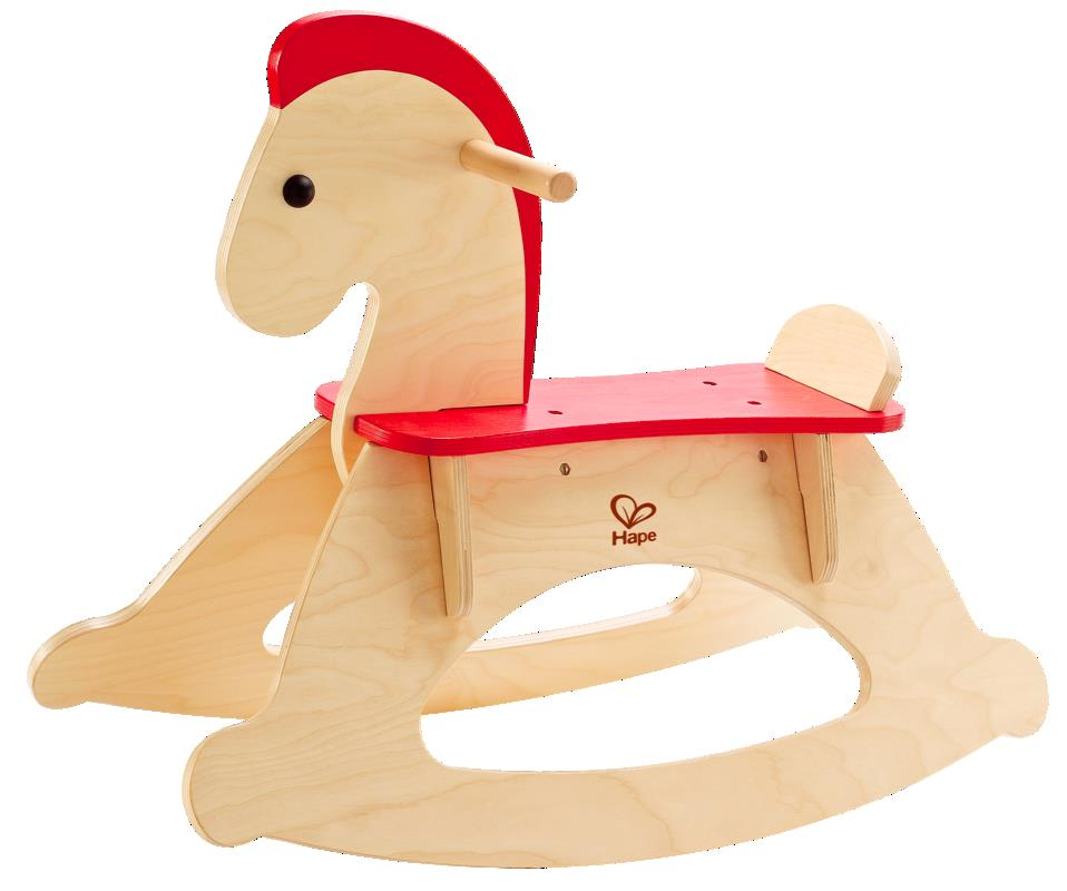 Hape-Wooden Toys-Rock and Ride Rocking Horse