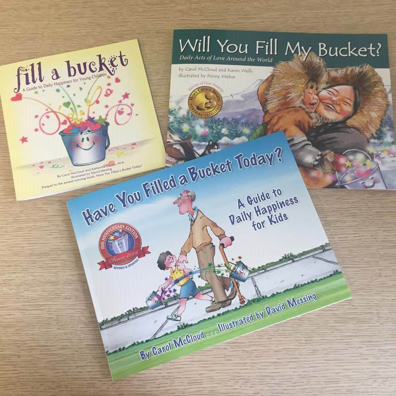 Bucket Filling books