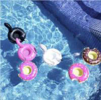 Inflatable Drink Holders - Birds (3pk) (and Donuts (3pk)sold separately)