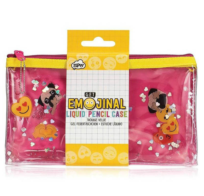 NPW - Get Emojinal Liquid Pencil Case