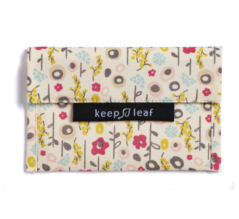 Keep Leaf Reuseable Baggie Small - Bloom