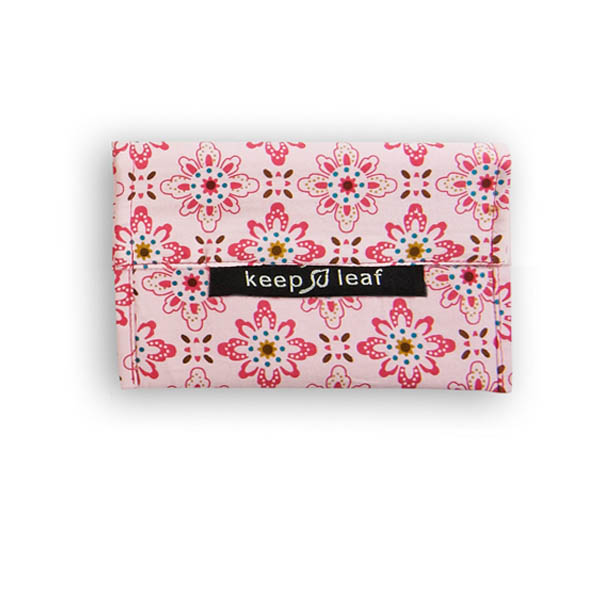 Keep Leaf Small Baggie - Floral