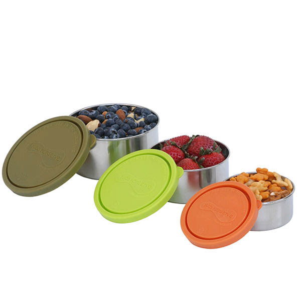 U Konserve Nesting Trio Containers ~ set of 3 ~Moss