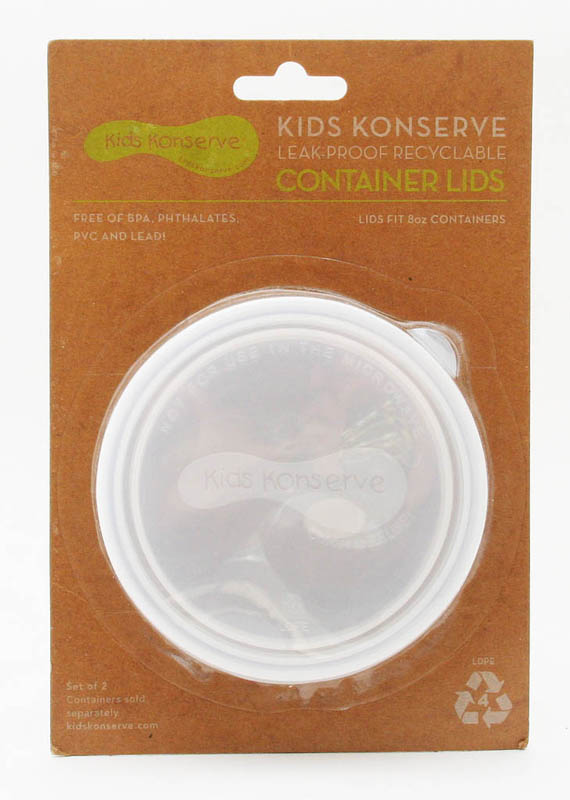 U Konserve-Medium Round Container Replacement LIDS {Set of 2}