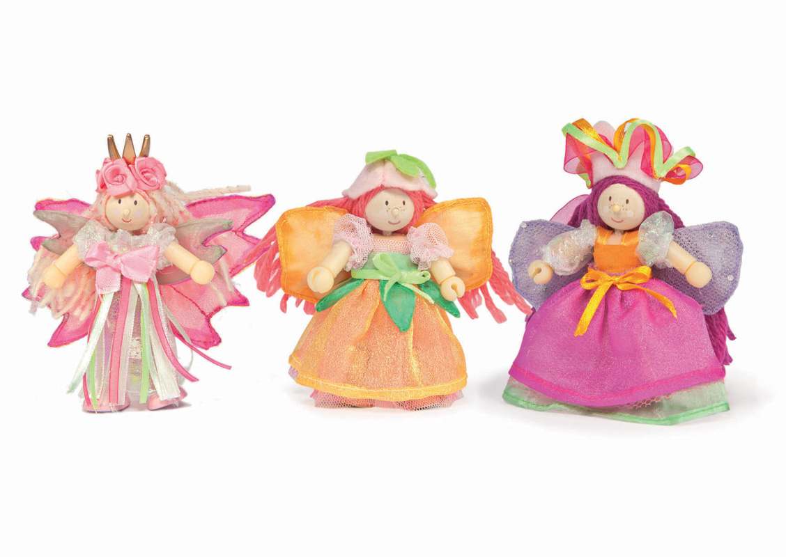 Le Toy Van  Budkins Garden Fairy Set