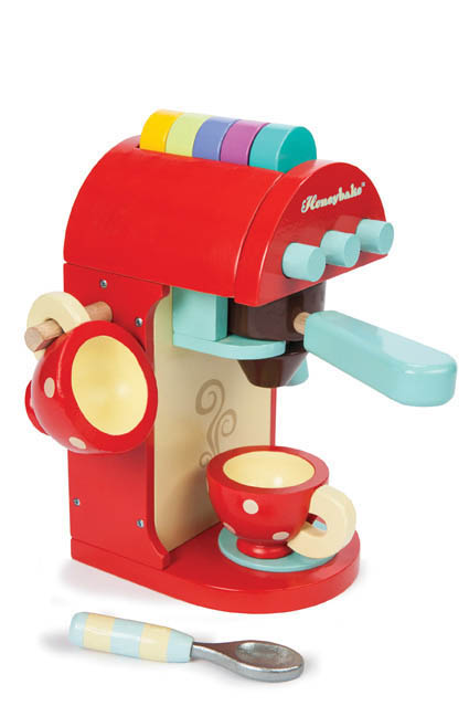 Le Toy Van- Kids Wooden Toys- Chococcino Machine