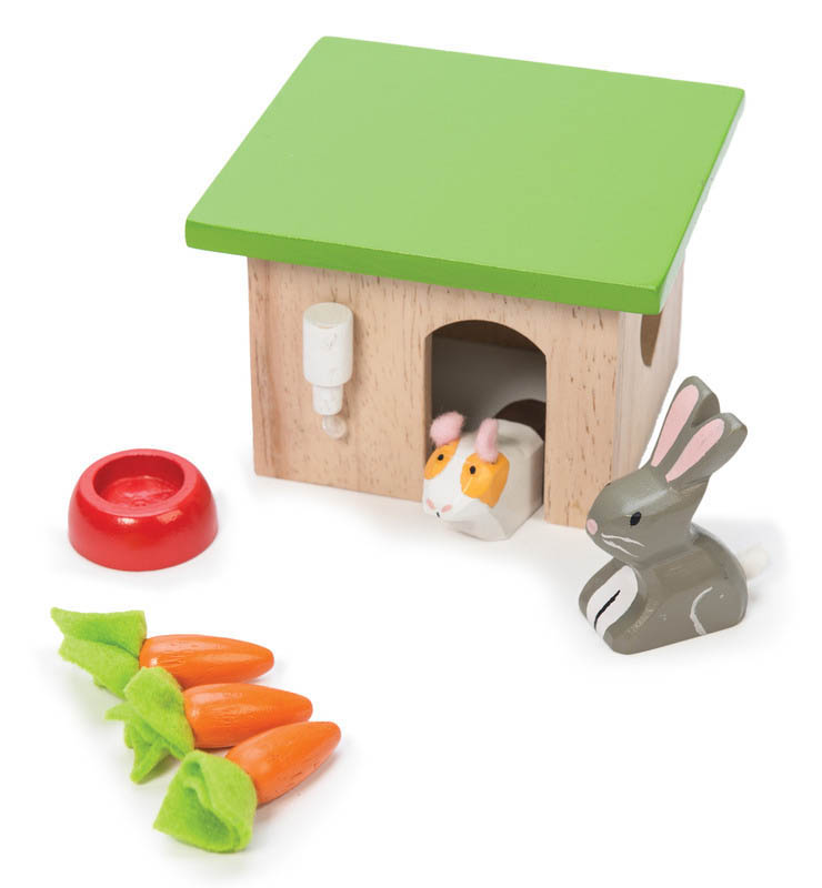 Le Toy Van-Kids Wooden Toys-Daisylane Bunny and Guinea Set