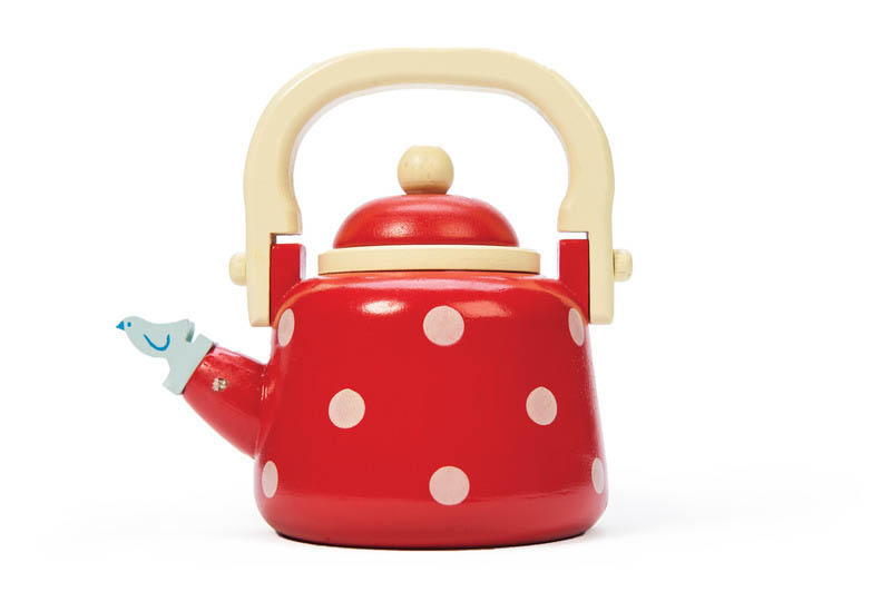 Le Toy Van-Kids Wooden Toys-Honeybake Dotty Kettle